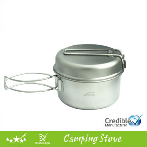 Ultraight Titanium Camping Cookware Set pictures & photos
