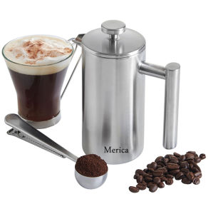 1L Stainless Steel Double Wall French Coffee Press pictures & photos