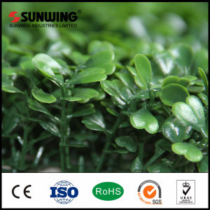 Decor Artificial Big Green Leaves Garden Fence IVY Mat pictures & photos