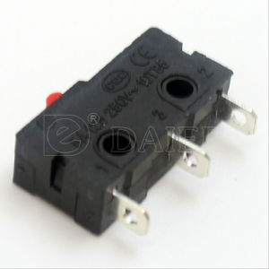 Daier Mini No Lever Electrical Micro Switch (KW4-Z1F) pictures & photos