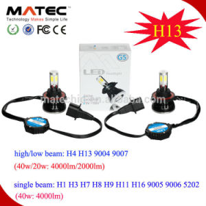 40W 4000lm 6000k H4 9004 9007 H13 LED Headlight pictures & photos