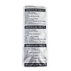 Griseofulvin Tablets 500mg GMP Medicine pictures & photos