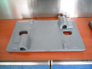 Rolling Type Steel Railway Tie Plate as T Type Fastening System pictures & photos