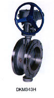 Double Flange Cast Steel Wcb Butterfly Valve pictures & photos