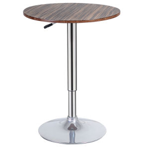 Modern Dining Furniture Wooden Adjustable Height Bar Table (FS-WB1060-) pictures & photos