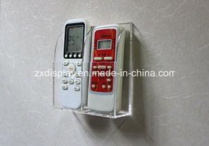Acrylic TV Remote Control Holder Wall Mount Storage Box Media Organizer Rack pictures & photos