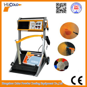 Fast Change Color Powder Coating Machine with Feed Box Unit pictures & photos