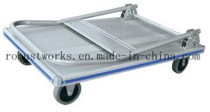 Aluminium Platform Hand Truck (HT041A) pictures & photos