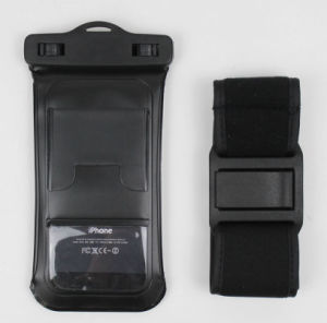 Ipx8 PVC Waterproof Mobile iPhone Case with Arm Band (YKY7247-1) pictures & photos