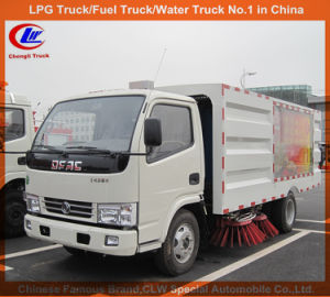 Dongfeng Mini Sweeper Truck 3m3 Street Sweeping Truck for Sale pictures & photos