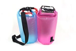 Transparent Colorful PVC Waterproof Dry Bag (MC4037) pictures & photos