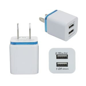 Universal AC USB Dual Wall Charger for iPhone 6 pictures & photos
