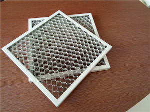 White Color Aluminum Honeycomb Ceiling Tiles pictures & photos
