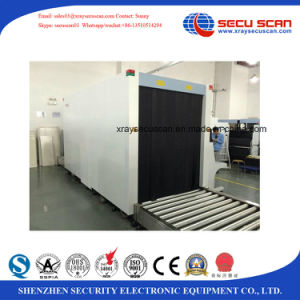 pallet X ray screening scanner to pallet box at warehouses, airport, borders pictures & photos