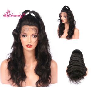 Super Amazin Full Lace Wig with Silk Top, Natural Looking Wave Ombre Color Brown Wig pictures & photos