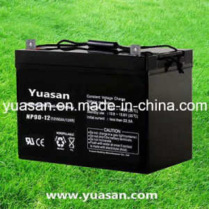 Yuasan Good Quality Rechargeable 12V Sealed Lead Acid Battery--Np90-12 (12V90AH)
