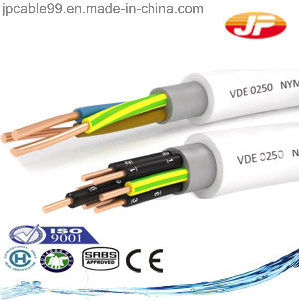 Nvv Cable Hrn HD 21.4 S2, IEC 60227-4, DIN VDE 0250 Part 204 pictures & photos