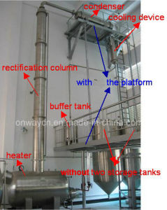 Jh Hihg Efficient Factory Price Stainless Steel Solvent Acetonitrile Ethanol Alcohol Distillery Equipments Gin Distillation pictures & photos