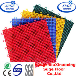 Interlocking Suspended Basketball Flooring Sport DECT Tile pictures & photos