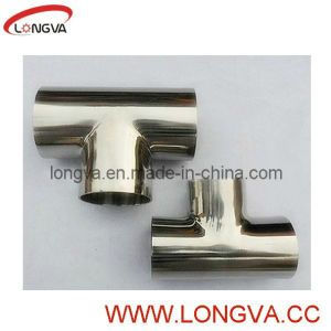 3A Standard Stainless Steel Tee Pipe pictures & photos