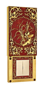Brass Wall Power Switch Sliding Cover with Classic Patterns pictures & photos