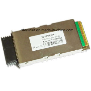 3rd Party X2-Lr Fiber Optic Transceiver Compatible with Cisco Switches pictures & photos