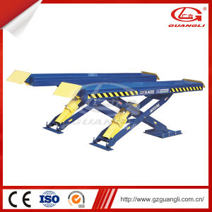 Professional Manufactuere Hydraulic Large Platform Auto Car Scissor Post Lift (GL4000) pictures & photos
