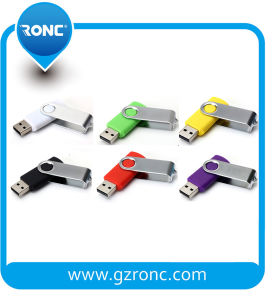 Swivel USB Flash Drive 8GB/16GB/32GB with Metal Shell pictures & photos