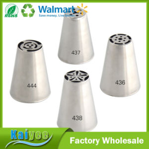 Promotion Round Stainless Steel Icing Russia Cake Decorating Tips Set pictures & photos