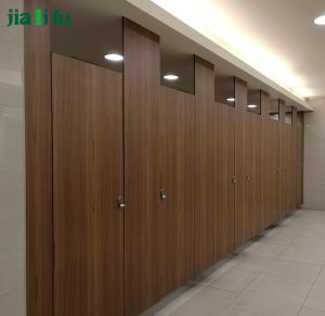 Jialifu Stainless Steel HPL Toilet Cubicle pictures & photos