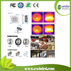 8 Inch 50W LED Down Light with CE&RoHS Approval pictures & photos