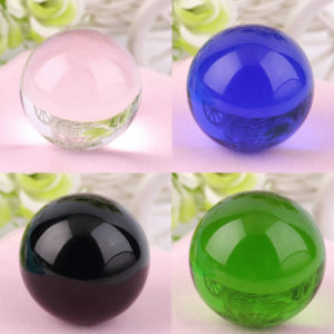 80ml Rare K9 Crystal Feng Shui Solid Ball Colorful Glass Balls pictures & photos
