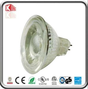 ETL CE RoHS Glass Body MR16 Gu5.3 12V 5W LED