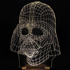 Optical Star Wars Warriors White LED 3D Visual Night Light pictures & photos