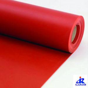 Red Rubber Mat SBR Rubber Sheet Roll Mat pictures & photos