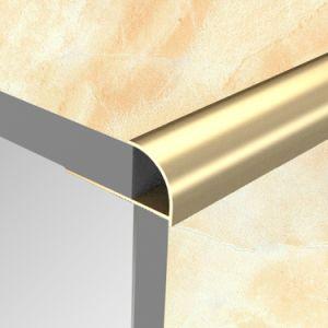 Round Open Type Aluminum Tile Edge Trim (HSRO-260) pictures & photos