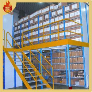 2 Tiers Adjustable Steel Mezzanine Floor Rack Platform System pictures & photos