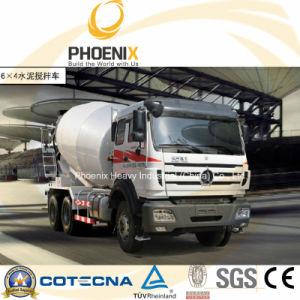 Professional Beiben North Benz Concrete Mixer Truck (6X4) with Mercedes Benz Technology pictures & photos