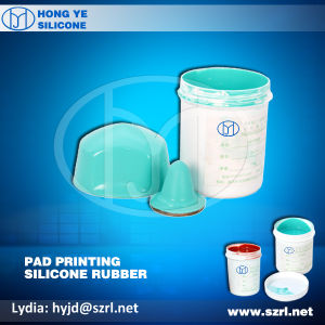 Easy Operation Pad Printing RTV Silicone Rubber pictures & photos