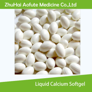 Healthy Food Liquid Calcium Softgel pictures & photos