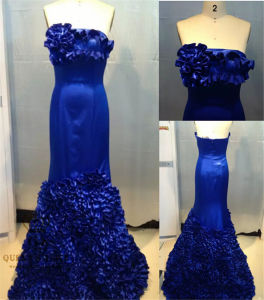 2016 Prom Dress Bridal Gown with Beading pictures & photos