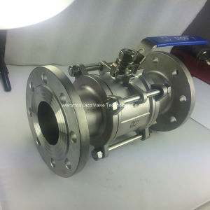 Full Port Floating 3PC Flange Ball Valve (Q41F-16P) pictures & photos
