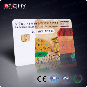 Sle5542 Optional Color Printing Plasitic Contact IC Memery Chip Card pictures & photos