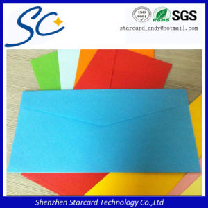 Offset Printing Wallet Style Kraft Paper Invitation Envelopes pictures & photos