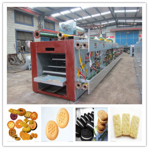 High Efficient Full Automatic Sandwich Biscuit Production Line pictures & photos