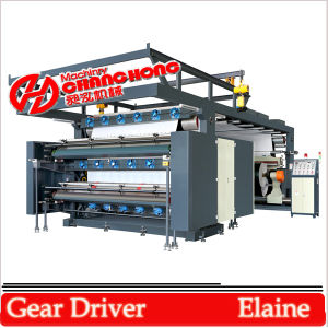 4 Colour High Speed Flexographic Printing Machine Helical Gear pictures & photos