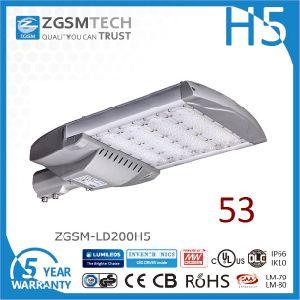 2016 Zgsm Most Economical 200W LED Area Light pictures & photos