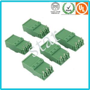 Factory Supply 5.08mm Pitch Male Female Pluggable Plastic Terminal Block pictures & photos