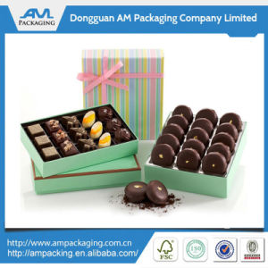 Cardboard Choclolate Box with Divider Inner Tray Wholesale pictures & photos