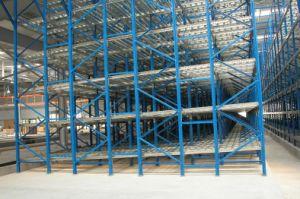 Gravity Warehosue Storage Metal Steel Racking pictures & photos
